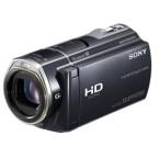 Der Sony Camcorder HDR-CX 505 VE im zusammengeklappten Zustand. (Bild: Sony)