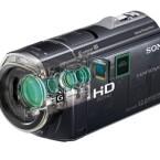 Sonys HDR-CX-520VE arbeitet mit dem gleichen Objektiv wie Spiegelreflexkameras und liefert Full-HD-Auflösung über die HDMI-Schnittstelle. (Bild: Sony)