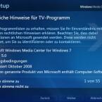 """Nach Zustimmung der rechtlichen Hinweise und Lizenzbedingungen startet Windows 7 mit dem Download von """"PlayReady"""", einem digititalen Rechteverwaltungsdienst."""