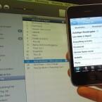 Freunde können mit der neuen DJ-Funktion über ihr iPhone oder iPod Touch einzelne Titel vorschlagen oder für aktuelle Titel bei Gefallen stimmen.