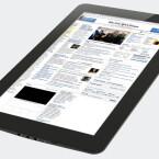 Das Gerät ist 12 Zoll groß und setzt wie das iPad auf Apps und Widgets, sowie Steuerung via Multitouch.