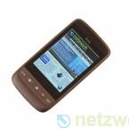 Das HTC Touch 2 ist ein günstiges Smartphone mit dem Betriebssystem Windows Mobile 6.5.