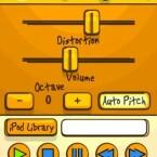 Mit Voice Band kann der Nutzer leicht Notizen festhalten, indem er in das Mikrofon des iPhones singt. Das Programm rechnet die Stimme in verschiedene Musikinstrumente um.