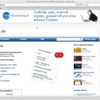 Das Angebot des Dienstleisters CWCity.de. Der Service bietet unbegrenzten Speicherplatz und Traffic und verschiedene Webtools.