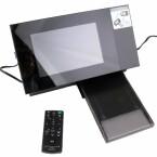 Sieben Zoll Bildschirm im 16:10-Format.