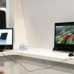 3D-Monitor mit Nvidia 3D Vision - Shutterbrille nötig.
