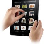 Die Multi-Touch-Oberfläche arbeitet mit der gleichen Technik, über die auch das iPhone verfügt.