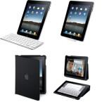 Passendes Zubehör sind unter anderem eine Tastatur, eine Schutzhülle oder diverse Adapter.