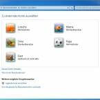 Die Kontoübersicht zeigt sämtliche angelegte Benutzerkonten. Zum Bearbeiten eines Kontos genügt ein Klick auf das gewünschte Konto.