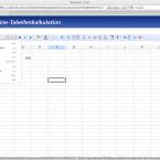 1&1 Online Office speichert Dokumente auch in exotischen Formaten wie Gnumeric.