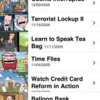 Auch Pulitzer-Preisträger kommen in die Schusslinie: Hier die satirische App NewsToons.