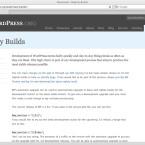 Für WordPress 3.0 genügt eine neue Variable und ein anschließendes Software-Update.