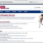 Der Personal Shopper von MyUS kauft für Kunden mit eigener Kreditkarten ein.