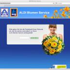 Dafür können Aldi-Kunden aber Blumen, Fotos und Reisen im Netz bestellen.