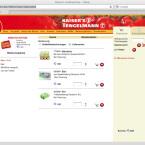 Das volle Nonfood- und Food-Sortiment liefert Kaisers Tengelmann bis an die Haustür.