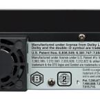 Der Lüfter des BDX 2000 KE läuft ständig, macht aber nur wenig Krach. Die LAN-Buchse dient leider nur für BD-Live-Inhalte.