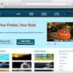 Auf der Seite GetPersonas stehen dutzende Layouts bereit, mit denen Nutzer den Firefox personalisiert haben.