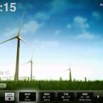 Zwar zeigt Weather HD keine sonderlich detaillierten Wetter-Daten an, beeindruckt aber durch Animationen des aktuellen Wetters.