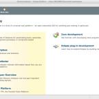 Beim Starten begrüßt den Anwender eine schöne Welcome-Seite mit wichtigen Hinweisen.