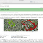 Forscher in Cambridge nutzen Karten von OpenStreetMap, um Schadstoffe zu visualisieren.