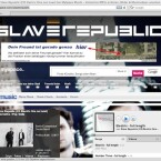 Bei MySpace gibt es mehr Informationen über seine Band Slave Republic.