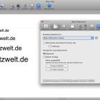 In den Einstellungen lässt sich auch der Standard-Dateityp ändern.