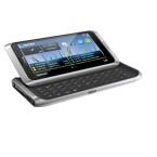 Der Touchscreen ist vier Zoll groß - knapp zehn Zentimeter. Nokia verlangt für das E7 649 Euro. Bild: Nokia