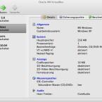 Oracle VirtualBox zeigt zu jeder virtuellen Maschine die Systemdetails genau an.