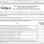 Obwohl die Webseite antiquiert aussieht, erledigt sie die monatliche Umsatzsteuer-Voranmeldung sehr zuverlässig.