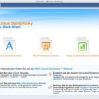 Auch IBM bietet mit Lotus Symphony ein eigenes Derivat der Office-Suite an.