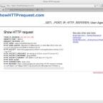 Mehrere Webdienste zeigen dem Nutzer, wie seine eigenen HTTP-Anfragen aussehen.