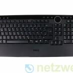 Die kabellose Tastatur mit Ziffernblock