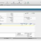 In der Layoutansicht kann der Nutzer neue Datensätze eingeben, bearbeiten oder löschen.
