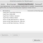 Die Zugriffsrechte lassen sich in FileMaker sehr detailliert konfigurieren.