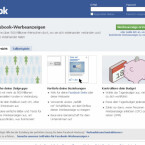 Facebook ist schon weiter: Die Anzeigen werden in einem ausgefeilten System geschaltet.
