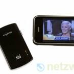 Für den Empfang per iPhone benötigt der Anwender ein iPhone 3G S oder iPhone 4 mit iOS 4. Bild: netzwelt