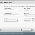 Das Online-Tool EZ-RC.com ist sehr wissbegierig. (Bild: Screenshot)