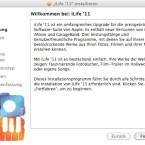 Zu Beginn der Installation wird erst einmal erklärt, welche Programme überhaupt in iLife 11 enthalten sind.