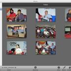 Mit iPhoto lassen sich auch große Bildarchive schnell und sicher verwalten.