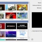 Die Vorlagen von iMovie helfen, schnell zu schönen Ergebnissen zu gelangen.