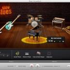 Neben iPhoto, iMovie, iWeb und iDVD ist auch GarageBand in iLife 11 enthalten.
