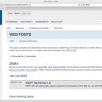 Das W3C arbeitet derzeit am WOFF-Standard, der Fonts im Web revolutionieren könnte. (Bild: Netzwelt)