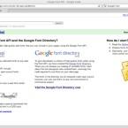 Google bietet eine eigene Font-API und wird damit zum Dienstleister für Schriftarten. (Bild: Netzwelt)