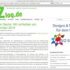 Andere Blogs schließen dagegen bereits wegen dem kommenden JMStV, etwa das VZlog. (Bild: Netzwelt)