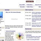 Die Internet Society dient seit einiger Zeit ...  (Bild: Netzwelt)