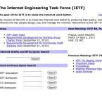 ... als Dachorganisation für die Internet Engineering Task Force. (Bild: Netzwelt)