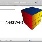 Illustrator bietet ansprechende Funktionen für 3D-Objekte. (Bild: Netzwelt)