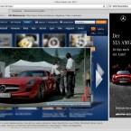 Das Mediacenter von N24 mit einem vorgeschaltetem Werbefilm.
