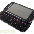Das Samsung Omnia Pro B7610 ist ein vollausgestattetes Business-Smartphone mit vollständiger QWERTZ-Tastatur.
