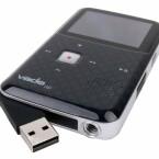 Akku aufladen und Daten übertragen per USB.